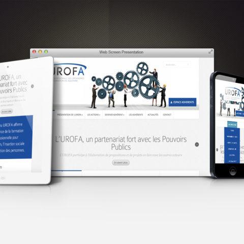 Site et logo – UROFA