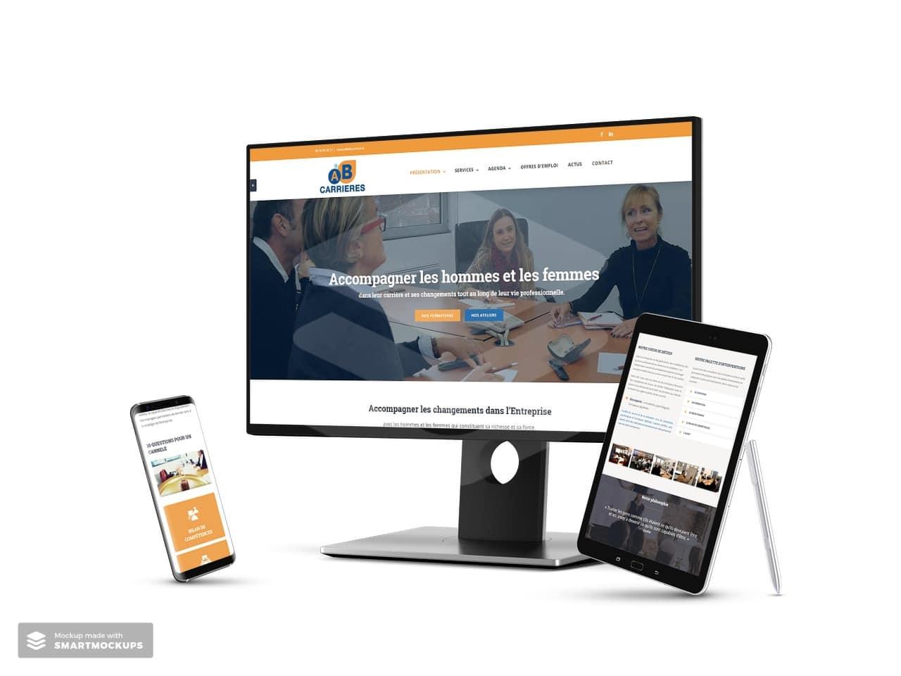 Site Web AB Carrières